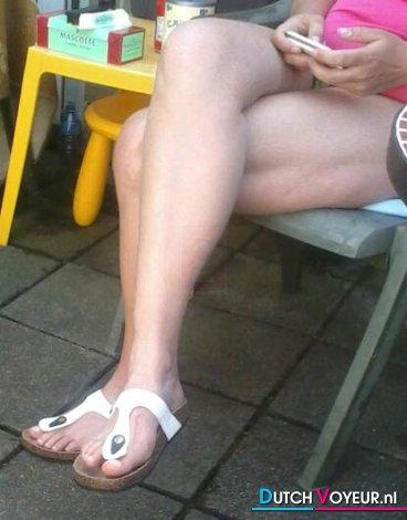 legs tan