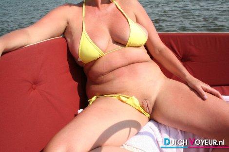 half a bikini