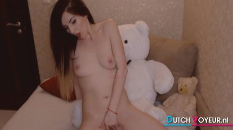 Nice Body Teen Playing Her Sweet Wet Pussy