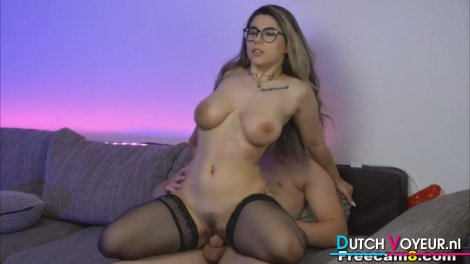 This Chick Loves Riding His Cock