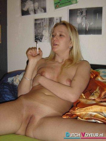 Nude exwife