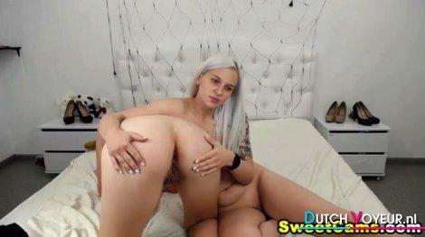 Lesbian Babes Having a Nice Masturbation Show